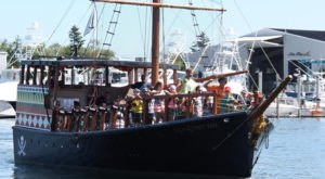 Sail The High Seas On This Fun Pirate Ship Adventure In Massachusetts