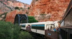 Verde Canyon Railroad's Open Air Train Ride Is A Scenic Arizona Adventure For The Whole Family