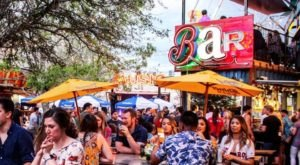 The Truck Yard Is An Adult Playground And Bar In Texas