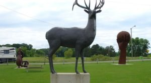 Nyberg Sculpture Park In Minnesota Is A Truly Unique Roadside Attraction
