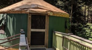 You Can Sleep In A Yurt At Otter River State Forest Campground In Massachusetts