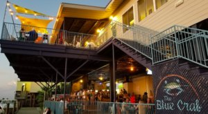Dine Right On Lake Pontchartrain At The Beautiful Blue Crab In New Orleans