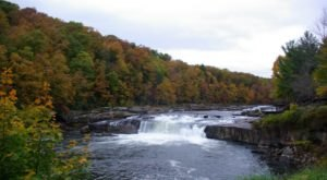 Ohiopyle Falls Near Pittsburgh Will Soon Be Surrounded By Beautiful Fall Colors