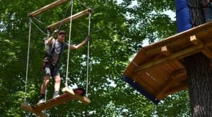 Boundless Adventures In Wisconsin Is A Must-Visit For Thrill-Seekers, Tree-Climbers, And Outdoor Enthusiasts Of All Ages