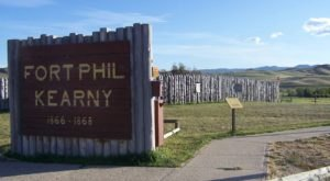 Wyoming's Notorious Fort Phil Kearny Lights Up During An Eerie Full Moon Lantern Tour