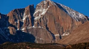 Longs Peak Is Considered To Be The Most Dangerous And Deadly Mountain In Colorado