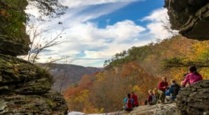 The 2.6-Mile Laurel Falls Trail Is A Beautiful And Easy Trail To Take In Tennessee