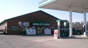 Fill Up Your Car And Your Stomach At Ed's Pit Stop, A Combination Restaurant And Gas Station In Wisconsin