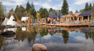 A Fascinating And Playful Children's Garden In Wyoming Is The Paul Smith Village