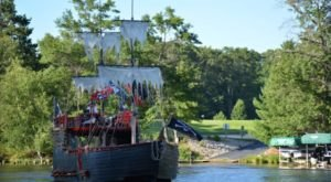 Rent Your Own Pirate Ship From Wisconsin's Pirates Hideaway For A Fun Day On The Water