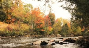Take In Breathtaking Autumn Views While On A Northern Forest Fall Foliage Canoe Trip In Vermont