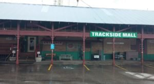 You'll Never Want To Leave This Massive Antique Mall, Trackside Mall, In Idaho