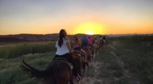 End Your Day On The Sunset Dinner Ride From Wild West Horseback Adventures In The Nevada Desert