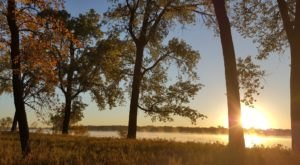 Cross Ranch State Park Has Some Of The Prettiest Views Of Fall Foliage In North Dakota