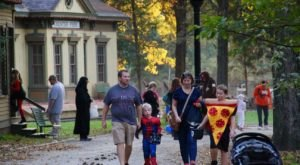 Trick-Or-Treat Through A Haunted 1800s Village At Ohio's Heritage Village Museum
