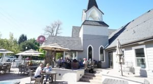 Eat Breakfast In A Converted Chapel At Rembrandts In Idaho