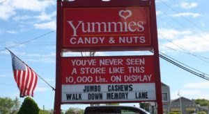 You'll Find 10,000 Pounds Of Treats Under One Roof At Yummies, A Candy Warehouse In Maine