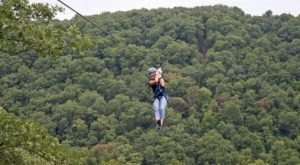 Take A Ride On The Longest, Highest Zipline In Missouri At Zip Line USA