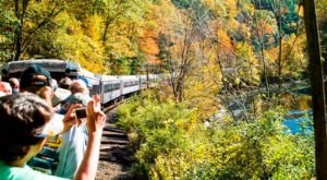 This Open Air Train Ride Near Pittsburgh Is A Scenic Adventure For The Whole Family