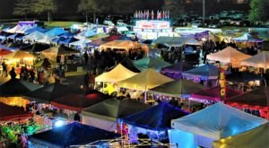 Explore Over 200 Vendors At The Bossier Night Market In Louisiana