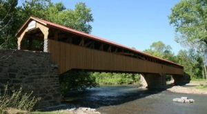 5 Undeniable Reasons To Visit The Longest Covered Bridge In Pennsylvania