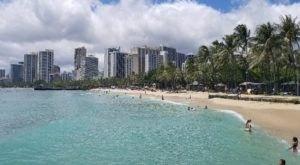 Snorkelers And Bodyboarders Flock To The Unbeatable Queen's Beach In Hawaii