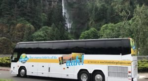 The Columbia Gorge Express In Oregon Will Lead You To Multnomah Falls