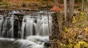 Minneopa Falls In Minnesota Will Soon Be Surrounded By Beautiful Fall Colors
