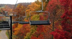 Experience Virginia's Fall Colors From Above On The Massanutten Scenic Chairlift Ride