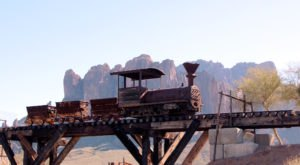 The Haunted Train Ride Through Goldfield Ghost Town In Arizona That Will Terrify You In The Best Way Possible