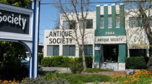 Hunt Through 20,000 Square Feet Of Vintage Treasures At The Antique Society In Northern California