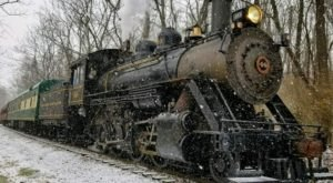 Journey To The North Pole On Santa's Steam Spectacular, A Family-Friendly Train Ride Through Pennsylvania