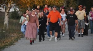 Embark On A Spooky And Historical Lantern Walk At Fort Fright In Michigan