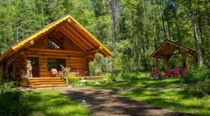 Drop Everything And Slip Away To This Handmade Cabin In The Woods In The Remote Idaho Forest