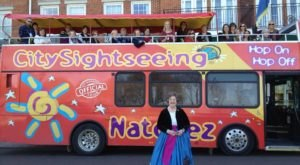 Natchez's Hop-On Hop-Off Double Decker Bus Tour, City Sightseeing, Is The Best Way To Explore Mississippi's Historic River Town