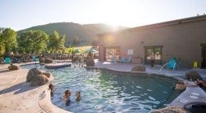 Sweat, Sip, And Soak At Broadwater Hot Springs In Montana
