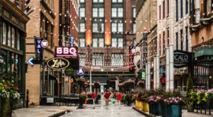 These Photos Show How Cleveland's Iconic East Fourth Quietly Became One Of The City's Loveliest Streets