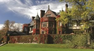 Spoil Yourself Like Royalty At The Blantyre Mansion-Turned-Hotel In Massachusetts