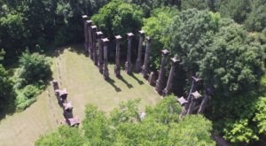 The 1957 Movie Raintree County Was Filmed At One Of Mississippi's Most Well Known Sites, The Windsor Ruins