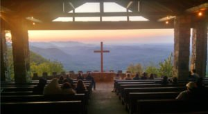 Pretty Place Chapel Is One Of The Most Spectacular Places To Watch The Sun Rise In South Carolina