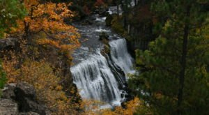 McCloud Falls In Northern California Will Soon Be Surrounded By Beautiful Fall Colors