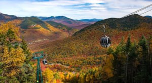 Experience New Hampshire's Fall Colors From Above On The Loon Mountain Gondola