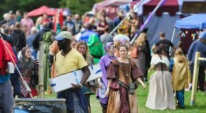 Lose Yourself At A Massive Medieval Marketplace At Connecticut's Renaissance Faire