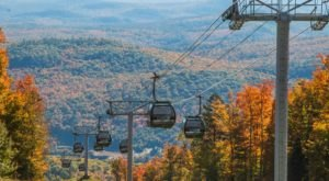 Ride A Gondola, Scenic Chairlift, Zipline, And More All At New York's Gore Mountain Harvest Fest