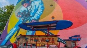 See 14 One-Of-A-Kind Murals Aboard This Pedal Wagon Tour Through Cincinnati