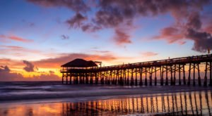 Cocoa Beach Pier Is One Of The Most Spectacular Places To Watch The Sun Rise In Florida