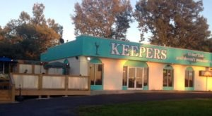 The Plates Are Piled High With Seafood At The Delicious Keepers Restaurant In Kentucky
