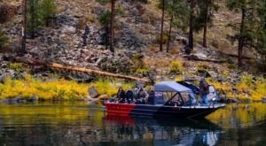 The Riverboat Tour By Hammer Down River Excursions In Idaho Is A Fun Adventure