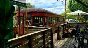 This Restaurant Near New Orleans Used To Be A Train Depot And You'll Want To Visit