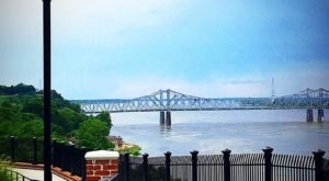 Enjoy Sweeping Views Of The Mighty Mississippi With A Walk Across Natchez's Bridge of Sighs